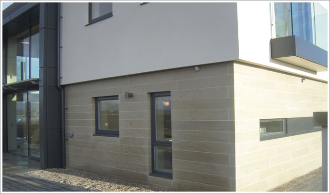 New Build, Dunmore House